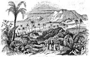 Illustration of British Guiana 7 October 1843 by Johann Jacob Weber (Hrsg.), 1803–1880. Wikimedia-Commons
