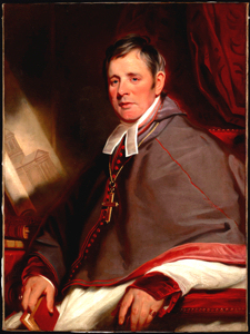 Father Alexander MacDonell (1762-1840) c1823-24 by Martin Archer Shee (1769-1860) Wikimedia-Commons