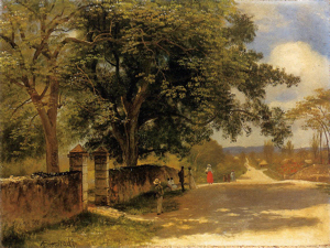 Street in Nassau 1877-1880 by Albert Bierstadt 1830-1902. Wikimedia-Commons