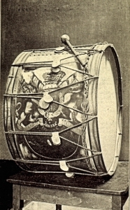 Lucknow Drum presented to Dover on 17 April 1860 but lost during a raid on the Museum during World War II. Dover Museum
