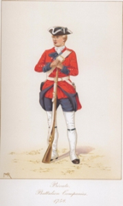 Private Battalion Companies 1758. Royal Green Jackets (The Rifles) Museum