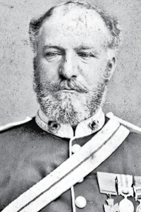 Sir Henry Wilmot 5th Baronet 1831-1901, awarded the VC following action on 11 March 1858 at Lucknow. Wikimedia Commons
