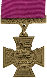 Victoria Cross Medal without Bar. Wikimedia Commons