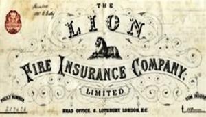 Lion Fire Insurance logo 1885 by Rosa Bonheur (1822-1899) Aviva Group Archive