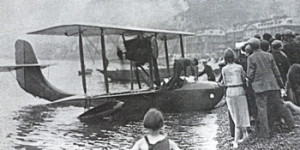 Short type 74 seaplane 13 July 1914, Dover Express