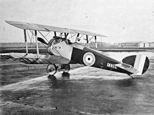 Sopwith FI Camel fighter aeroplane AJ Insall Collection Imperial War Museum. Wikimedia Commons.