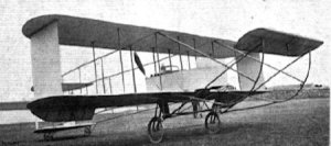 Maurice Farman Biplane Flight International March 1910. Wikimedia