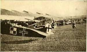 German Planes from The People's War Book (1919) Wikimedia Commons