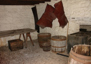 A room in St Fagans Tannery , National Museum Wales Cardiff. Zuresk 2007 Wikimedia