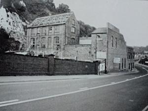 Packet Yard, Snargate Street, July 1971, prior to Demolition. John Gilham