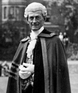 Town Clerk, Reginald Edward Knocker (1871-1956) in his official robes. Dover Museum
