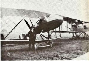 Pemberton Billing designed PB29 aeroplane, Guston. Dover Transport Museum