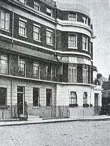 10 Camden Crescent, where Charles Dickens stayed in 1852. Destroyed in World War II. T W Tyrrell The Dickensian 1908