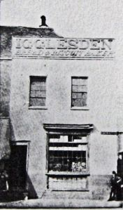 Igglesden's baker's shop in Market Square and founded in 1788, where Charles Dickens wrote, David Copperfield rested when he first arrives in Dover. Dover Museum