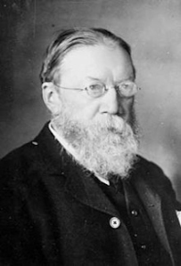 William Henry Preece (1834-1913), inventor and mentor to the young Marconi. Wikimedia