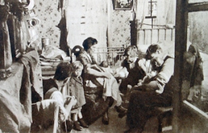 Housing - typical overcrowded 1930s tenement. Doyle collection