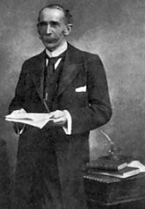 John Ambrose Fleming (1849-1945) Page's engineering weekly 1906. Wikimedia