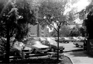 Stembrook Car Park c1987. Dover Museum