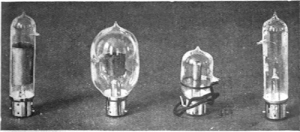 Thermionic Valves developed by John A Fleming. First used by No 9 (Wireless) Squadron on 9 May at the Battle of Aubers Ridge to receive, amplify and transmit clear radio signals. John A Fleming 1919