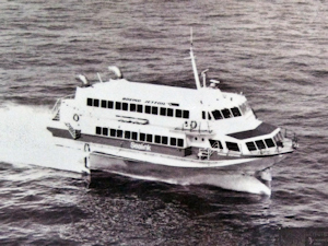 Prinses Stephanie - Jetfoil. Belgium Marine and Sealink. Dover Transport Museum