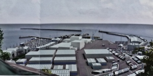 Western Docks proposed Cargo terminal. DHB
