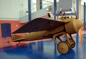 Deperdussin Monocoque exhibited at the Air & Space Museum at Le Bourget, France.