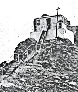 Typical Coastguard Concrete watchtower c1900-1960s. Alan Sencicle Collection