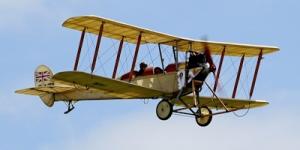 Royal Aircraft Factory B.E 2 aeroplane. Tony Hisgett, Birmingham, UK. Wikimedia