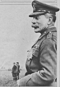 Sir Douglas Haig (1861-1928) in 1916 at the Western Front. Wikimedia