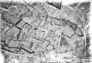 Aerial Photography on the Western Front 1916 IWM Wikimedia