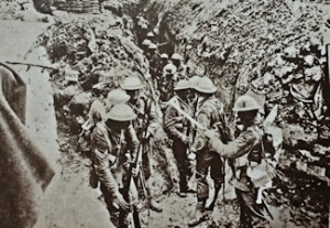 Allied Troops 'standing to' waiting to go over the top 01.07.1916 the first day of the Battle of the Somme. I.W.M