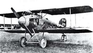 German Albatros D.II, a biplane flown by Lieutenant Manfred von Richthofen (1892-1918) better known as the 'Red Baron,' Wikimedia