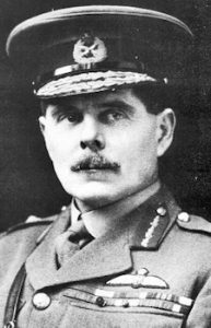 1915 Hugh R Trenchard (1873-1956) promoted to Brigadier General. Wikimedia