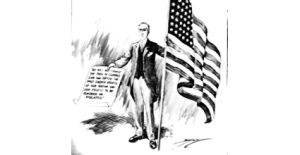 President Woodrow Wilson Declaration of War 06.04.1917. US National Archives