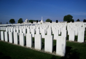 Tynecot War Cemetery - The Battles of Passchendaele (31 July-10 November 1917). Jean Marsh