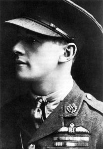 ace and Victoria Cross recipient James Thomas Byford McCudden (1895-1918) of Gillingham. Wikimedia