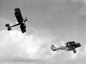 Two Bristol F2 Fighters. RAF.Mod.UK. Wikimedia