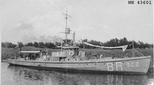 United States Navy submarine chaser SC 2 circa 1918. United States Navy