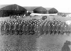 34th Aero Squadron, 2nd Air Instructional Center, Tours Aerodrome, France, November 1917 Air Service, United States Army