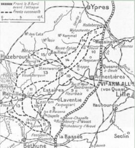 Battles of the Lys April 1918