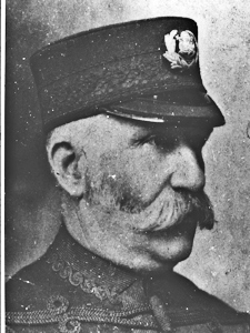 Chief Police Constable (1908-1920) David Fox (1864-1924). Dover Museum