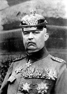General Erich von Ludendorff (1865-1937). Wikimedia