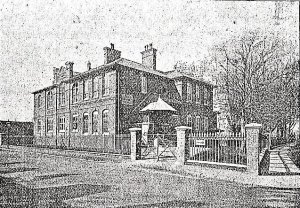 Built as an Art School, it subsequently became the Dover Girls' High School then the Girls' Grammar School. Paddock off Maison Dieu Road pre WWI. Dover Library