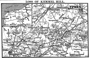 Loss of Kemmel April 1918. Times